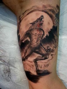 werewolf tattoo | Now viewing image 92 of 116 Previous Next