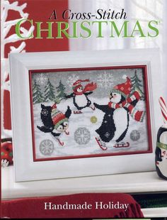 A Cross Stitch Christmas: Handmade Holiday 60+ Projects Patterns 2009 Hardcover  #Craftways #Christmas