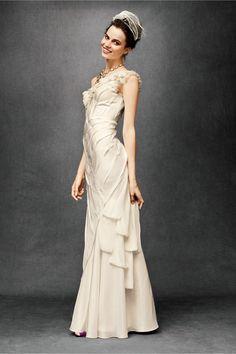 BHLDN wedding dress | sodazzling.com