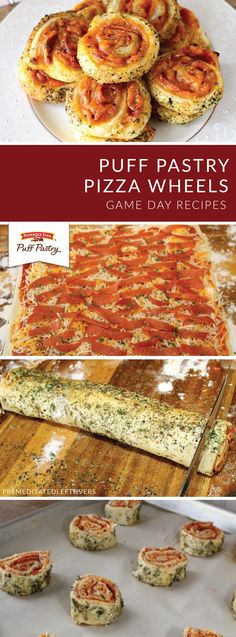 Family pizza night just got a lot more delicious thanks to these Puff Pastry Pizza Wheels from Alea of Premeditated Leftovers. Pepperoni, marinara sauce, cheese, and Italian seasoning come together with Pepperidge Farm® Puff Pastry Sheets to create a handheld dinner recipe that's sure to please!