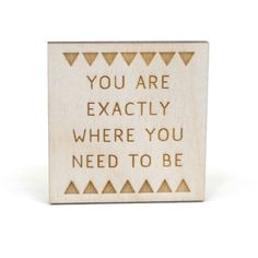 An introspecive truth in the form of a cute little magnet. www.mooreaseal.com