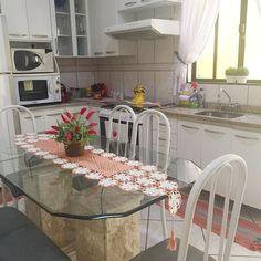 Cozinha ficou organizada e limpa  até mais. Boa tarde . . #decasalimpa #donadecasa #casaorganizada #home #cozinhalimpa #casalimpa