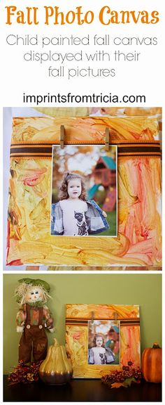 Fall Picture Display Using Fall Paintings