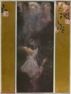Liebe - Gustav Klimt