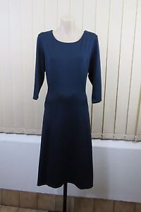 Size M 12 Motive Ladies Blue Dress Boho Chic Casual Business Office Work Design | eBay http://fancytemplestore.com