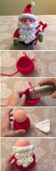 We have already learned how to crochet a beautiful jingle bell and a unique Santa applique – all in our previous tutorials. Today we are going to add up to our Christmas portfolio another holiday project. Ladies and gentlemen; we are going to learn to crochet a beautiful Santa doll, amigurumi as crochet toys are… Read More Crochet Santa Amigurumi Tutorial