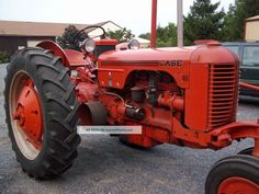 Antique Tractors, Vintage Tractors, Old Tractors, Old Farm Equipment, Heavy Equipment, Tractor Pictures, Case Tractors, Farm Boys, Farming