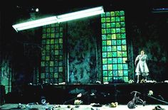 Dr. Faustus Lights the Lights. University of Rochester. Scenic design by Anka Lupes.