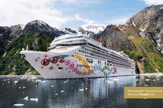 Norwegian Pearl in Alaska #Travel #Cruise #NCL #Alaska