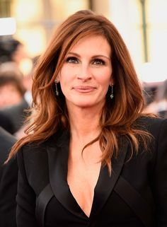 50 shades of brunette: inspiration to take to your hairdresser: Julia Roberts