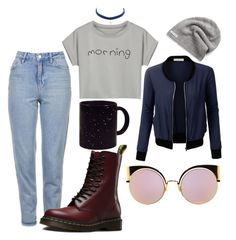 """""""i wanna make mistakes, and i want you to hear about it"""" by heretictoc on Polyvore featuring WithChic, LE3NO, Topshop, Fendi, Dr. Martens and Converse"""