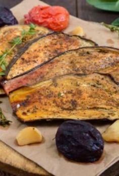 Berenjenas al ajillo: La forma más fácil y rica de comer este vegetal ¡Te encantarán!   MUI Recetas Vegetarian Recepies, Dessert Recipes, Desserts, Vegan Dishes, Deli, Zucchini, Chicken, Vegetables, Cooking