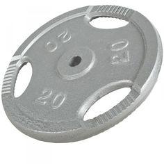 Tri Grip levypaino 20kg, 44,95 €. Valurautainen Tri Grip levypaino, 31mm reikä. #trigriplevypaino #levypaino