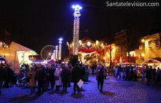 Mercado de Natal de Bruxelas na Bélgica