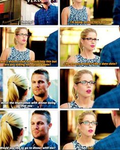 Felicity and Oliver #Arrow