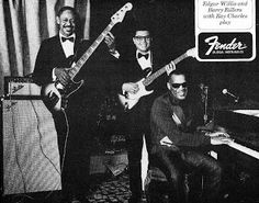 Ad Fender, Edgar Willis, Barry Rillera, Ray Charles 1967