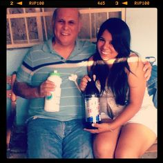 With my Dad!