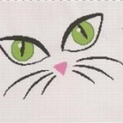 cat eyes afghan graph pattern - via @Craftsy