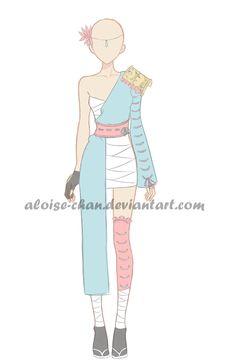[OPEN] Samurai Outfit Adoptable by Aloise-chan.deviantart.com on @DeviantArt