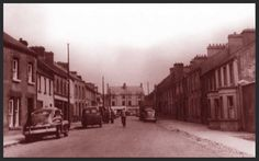 Old Church Street, Athenry, Co. Old Photographs, Ireland, Street View, History, Historia, Old Photos, Irish, Old Pictures