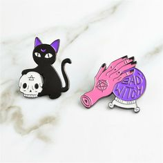1 Piece Cute Cartoon Grey Black Orange White Cat Paw Brooch Collar Corsage Shirt Bag Cap Jacket Pin Badge Birthday Gift By Scientific Process Jewelry Sets & More