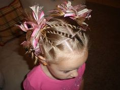 TONS of little girl hairstyles
