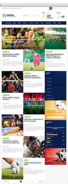 Ostrowiec Świętokrzyski News Portal on Web Design Served