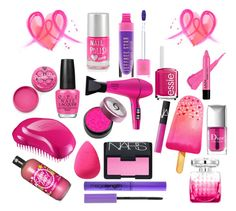 """Pink"" by yanavakarchuk on Polyvore"