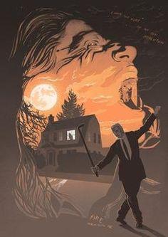 Twin Peaks Leland Palmer Vintage Poster