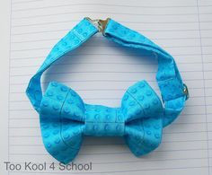 Your place to buy and sell all things handmade Lego Wedding, Wedding Bows, Lego Design, Boy Blue, Little Man, Party Planning, Printed Cotton, Boy Or Girl, Bow Ties