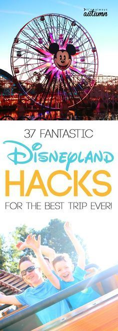 This is everything you need to know before you go to Disneyland! The best hacks, tips, and tricks to save time and make sure you have the best trip ever.
