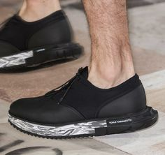 Y3 Adidas black shoes Curated by CAROLINE DAILY PARIS
