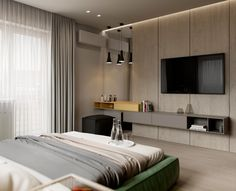 interior home decor Modern Master Bedroom, Modern Bedroom Design, Master Bedroom Design, Bed Design, Home Bedroom, Bedroom Decor, Modern Apartment Design, Home Interior Design, Hotel Room Design
