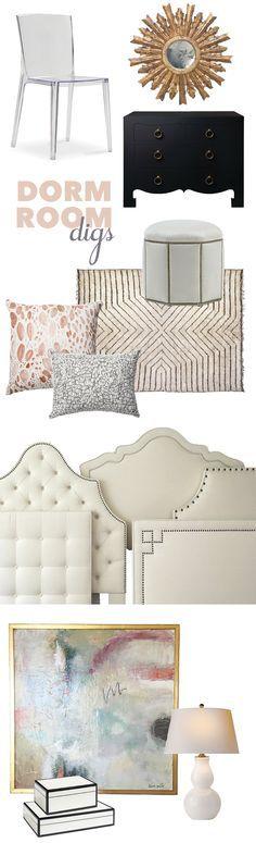 Decking A Dorm Room by Designer Katherine Shelton // Always Summer Blog