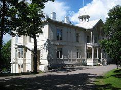 Villa Kivi, Töölönlahti   Flickr - Photo Sharing!