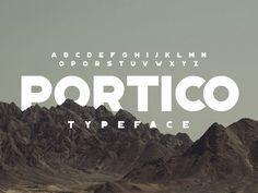 Portico Free Font