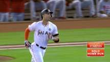 Giancarlo Stanton: (8/27/2017) 30th HR of 2017 Season (MLB Career 25---- HRs).