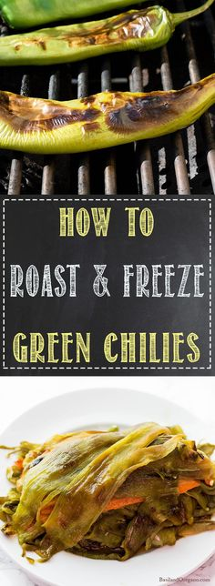 Green chilies are so delicious when they are roasted, so grab a sack load when they arrive at your local store. A quick roast at home and then you can add them to your favorite dishes and freeze the rest to use during the year. Easy Family Meals, Easy Meals, Family Recipes, Freezer Meals, Keto Recipes, Healthy Recipes, Chili Recipes, Healthy Foods, Yummy Recipes