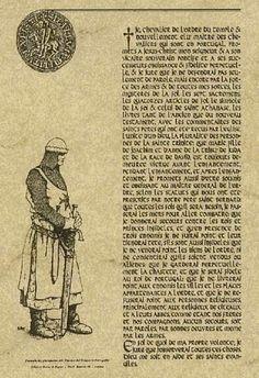 Serment des Templiers.