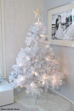 biała choinka :-)