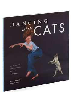 """Every crazy cat lady NEEDS this """"Dancing with Cats"""" book by Chronicle via Bibeline Designs"""