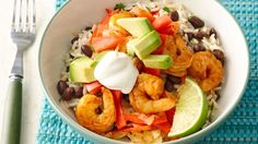 You can make your favorite Mexican restaurant-style burrito bowls at home in just 25 minutes, and the bonus is that they are gluten free!