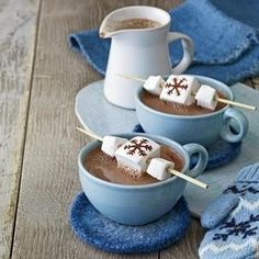 Hot Chocolate and Marshmallows #recipe