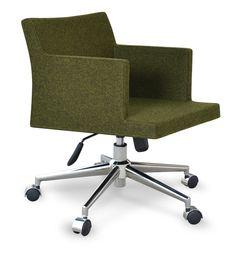 Soho Office- Forest Green Camira Wool