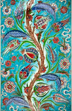 Turkish Design, Turkish Art, Turkish Tiles, Islamic Patterns, Cartoon Painting, Iranian Art, Arabic Art, Medieval Art, Tile Art