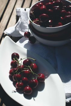 Fresh cherries - Foodie's Feed