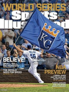 "Embedded image""I'll never forget when Greg Holland stole my flag and wound up on the cover of Sports Illustrated."""
