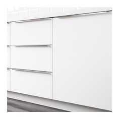 VEDDINGE Door IKEA VEDDINGE white is a smooth, sleek door that brings a bright and modern expression to your kitchen.