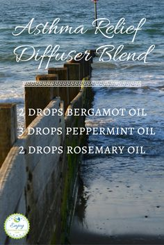 This diffuser blend for asthma relief does wonders! Give it a try and avoid the…