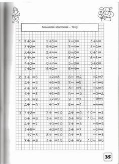 Albumarchívum Math Worksheets, Teaching Kids, Album, English, Index Cards, English Language, Kids Learning, Card Book